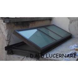 LUCERNARI ANTINTRUSIONE PER ACCESSO AL TERRAZZO E13