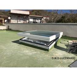 LUCERNARI CON COPERTURA PIANA '' LUCELUX '' H17