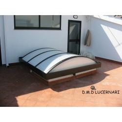 LUCERNARIO CURVO C25